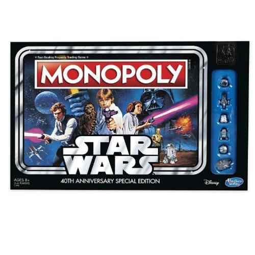 Monopoly Star Wars 40 Aniversario Ed. Especial+envío Gratis