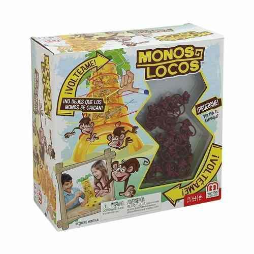 Monos Locos Juego De Mesa Mattel Games