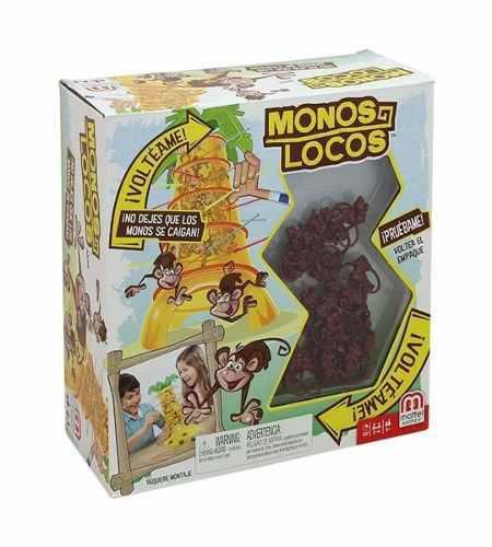 Monos Locos Juego Destreza Juegos De Mesa Uno Monopoly
