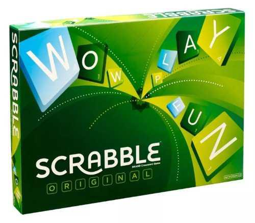 Scrabble Original Juego De Mesa Mattel
