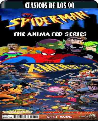 Spiderman De Los 90 Y X Men 90 Latino Hd Bluray