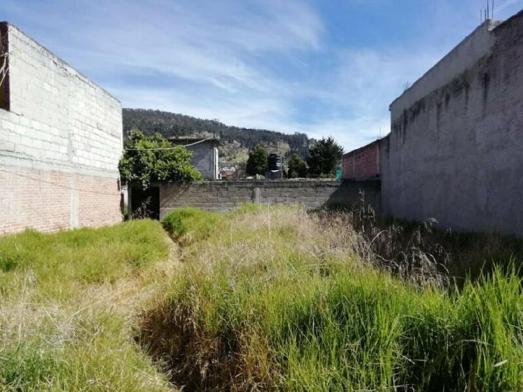 Terreno a la venta en Toluca