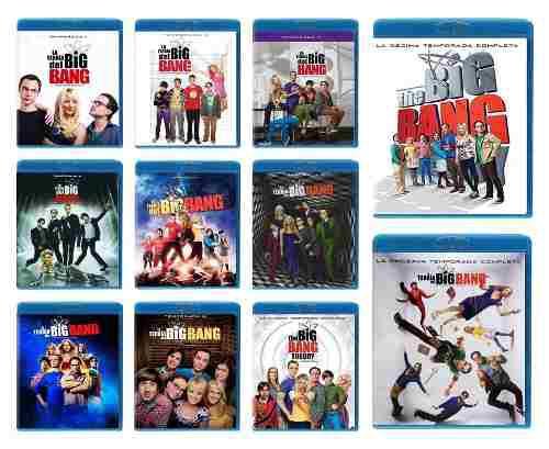 The Big Bang Theory Temporada 1 2 3 4 5 6 7 8 9 10 11 Bluray