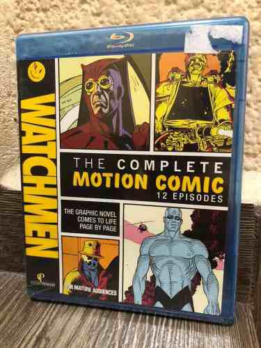 The Complete Motion Comic Watchmen Warner Serie