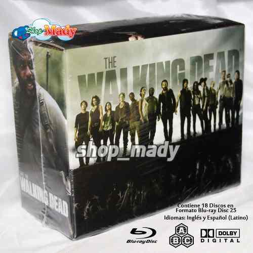 The Walking Dead Temporada 1 A La 5 En Blu-ray Reg. A B C