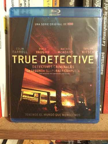 True Detective Temporada 2 Blu Ray
