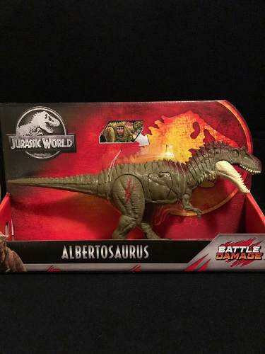 Albertosaurus Jurassic World Park Battle Damage