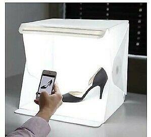 Renta de equipo fotográfico - Cubo de luz para producto.