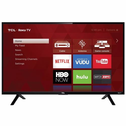 Television 32 Smart Tv Led Lcd Hdtv Tcl Con Roku Tv 32s301