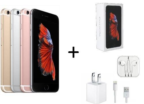 Apple Iphone 6s 128gb Libre De Fabrica Accesorios Caja Ofert