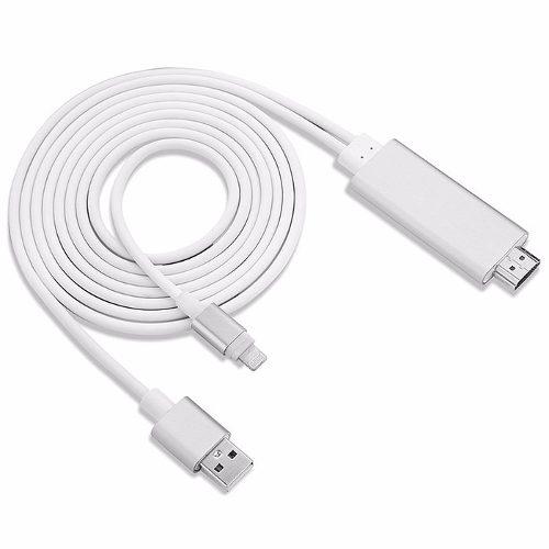 Cable Adaptador De Hdmi A Lightning Para Iphone O Ipad
