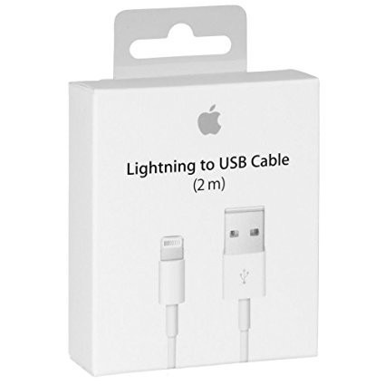 Cable Cargador Lightning 2 Mts Original Iphone 5/6/7/x Ipad