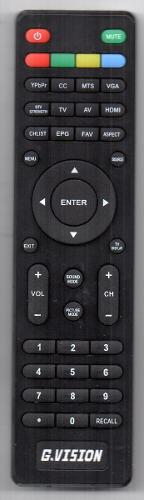 Control Remoto Tv Lcd Led G.vision
