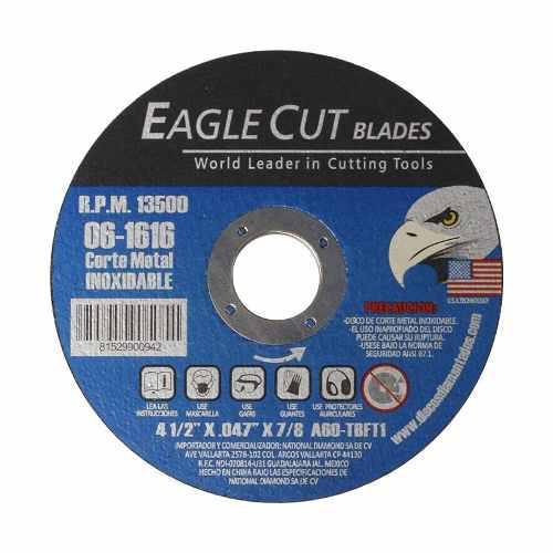 Disco De Corte P/metal Eagle Cut Blades 4 1/2