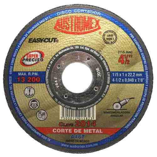 Disco Para Corte Preciso Metal Austromex Easycut 2014