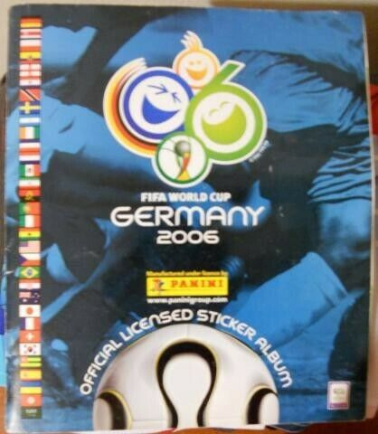 Estampas del Álbum Mundial  (Alemania) Panini