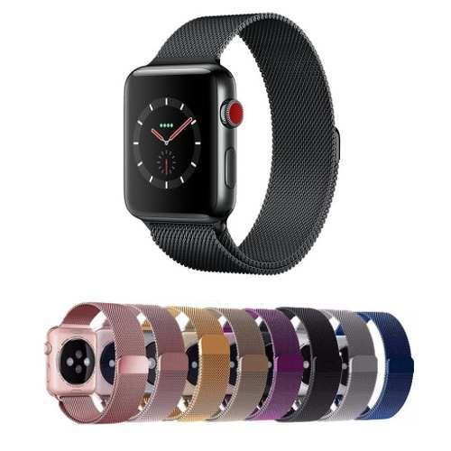 Extensible Correa Milanese Para Apple Watch Serie