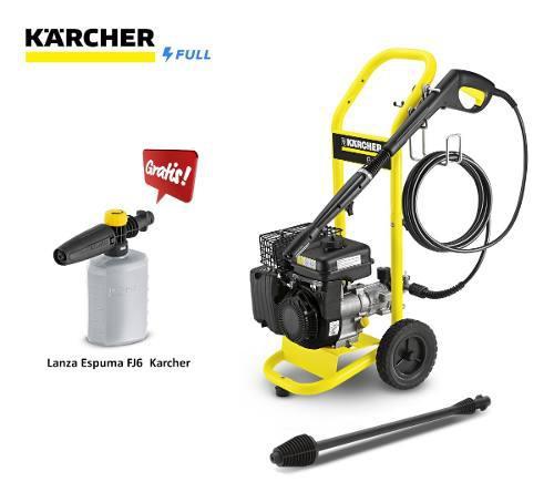 Hidrolavadora Karcher Gasolina G4.10 M Lanza Espuma Gratis!