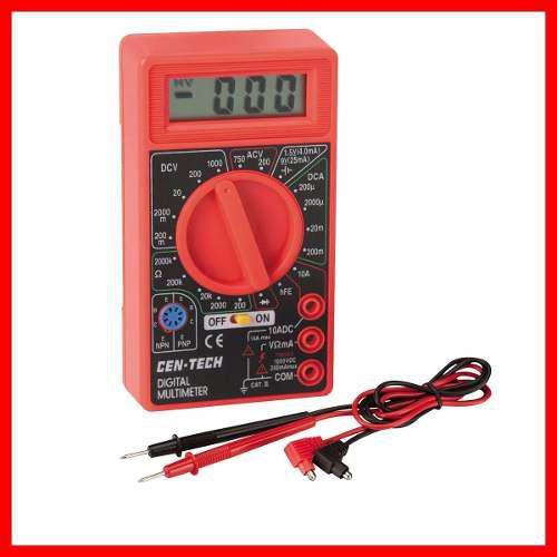 Multimetro Digital Amperimetro Voltimetro Ac Dc Todo 7 En 1