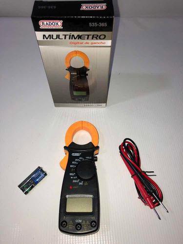Multimetro Digital De Gancho 535-365