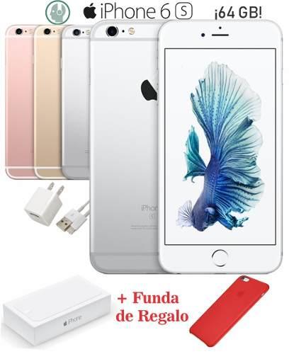 Oferta! Iphone 6s 64gb Caja Accesorios Envío Gratis A