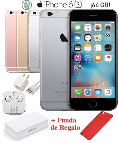 Oferta! Iphone 6s 64gb Caja Y Accesorios Originales + Regalo