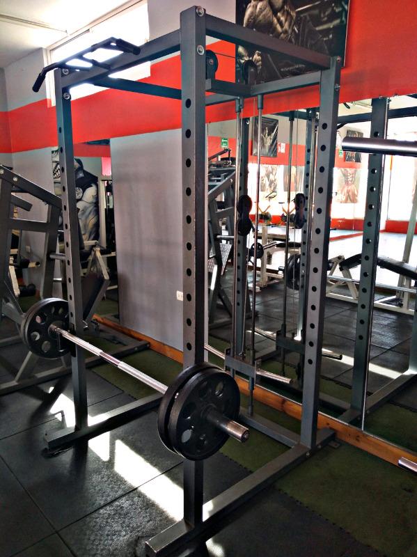 Rack Jaula De Poder Mini Gym Personal Cracken Gym Gimnasio