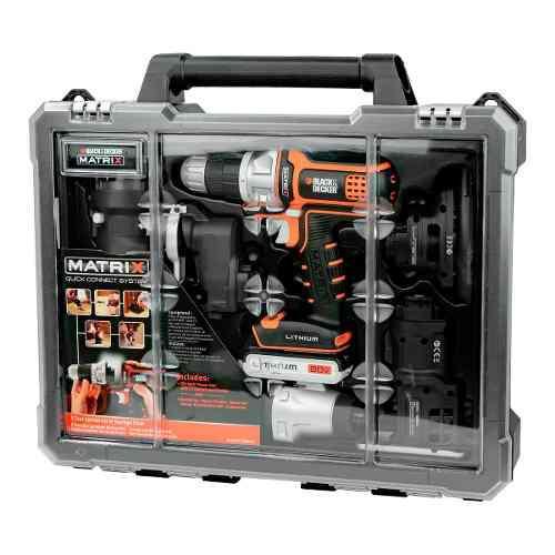 Taladro Black And Decker 6 En 1 Matrix 20v Tool Combo