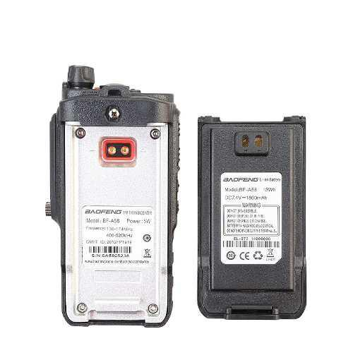 10 Pzas De Bateria Radio Baofeng Bfa58