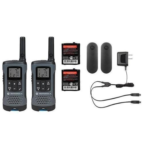 2 Radios Motorola Walkie Talkie T200 32 Km Micro Usb Recarga
