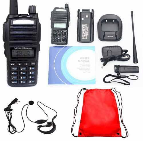 8 Radio Baofeng Uv 82 Doble Banda Vhf/ Uhf / Fm/ Escaner