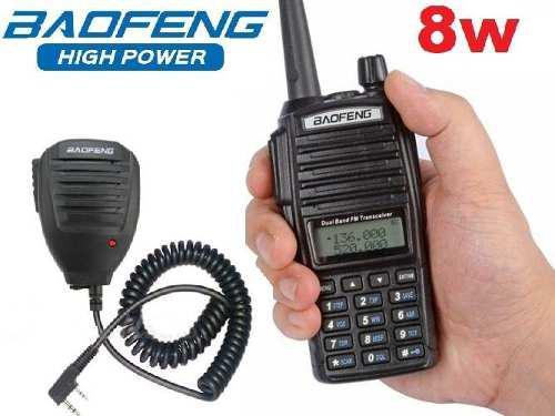 8w Radio Baofeng Uv-82 Hp Vhf/uhf Máxima Potencia + Micro