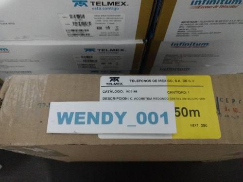 Acometida Fibra Óptica G657a2 Sc/upc 50 Mts Condumex