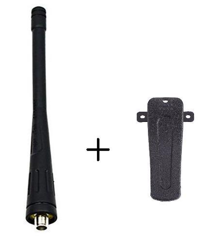 Antena + Clip Para Radio Baofeng Bf-888s 100% Nuevos