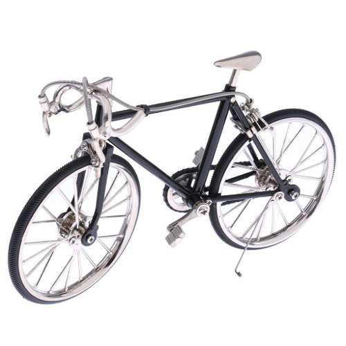 Bicicleta Carreras Escala 1:10 Coleccion Metal Movible 19 Cm