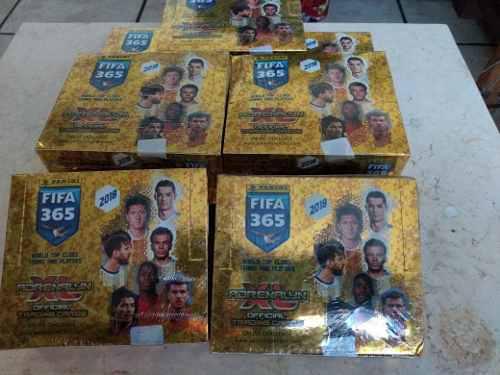 Caja De Tarjetas Adrenalyn Fifa 365 Edicion 2018