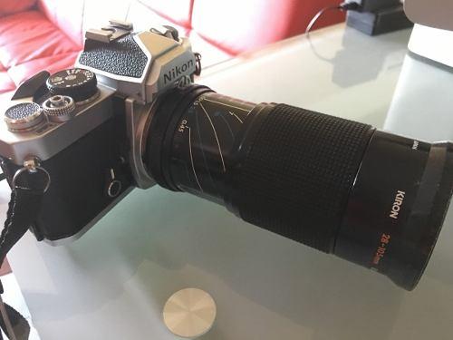 Camara Nikon Cámara Slr Vintage Nikon Modelo 35mm De Cine P