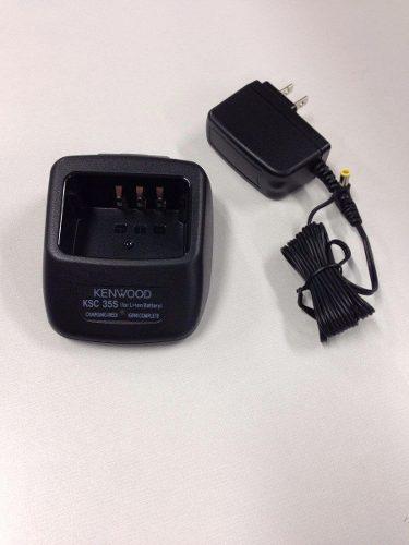 Cargador Ksc-35 Ksc35 Kenwood Tk2000 Tk3000 Knb45 Original