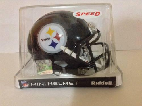 Casco Nfl Mini Helmets Riddell Speed Pittsburgh Steelers