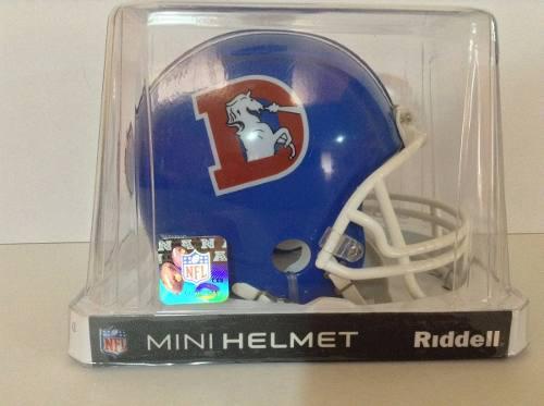 Casco Nfl Mini Helmets Riddell Throwback Broncos De Denver