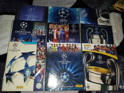 Coleccion De Album Panini De La Champions League