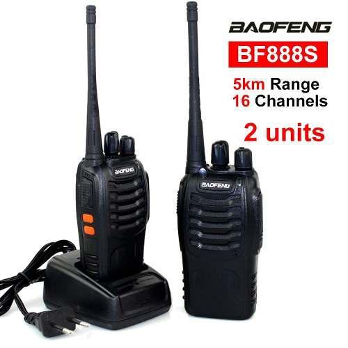 Conjunto De 2radios Baofeng 888s Portátil Profesional Uhf