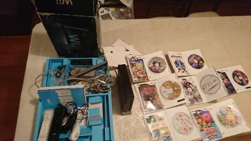 Consola Wii En Su Caja Original Con 7 Juegos.. Precio Tratar