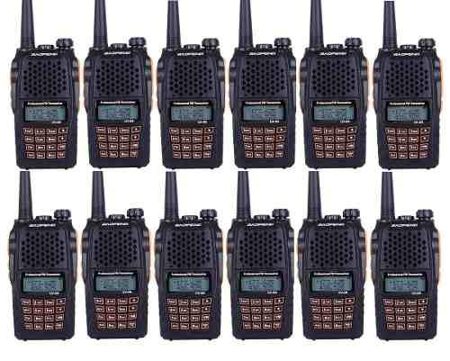 Doce Radios Portatil Baofeng Uv-6r Vhf/uhf Doble Banda 5w.