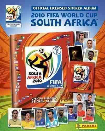 Estampas Mundial Sudafrica 2010 Album Panini