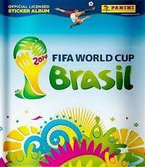 Estampas Panini Mundial Brasil 2014
