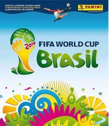 Estampas Sueltas Mundial Brasil 2014 Panini