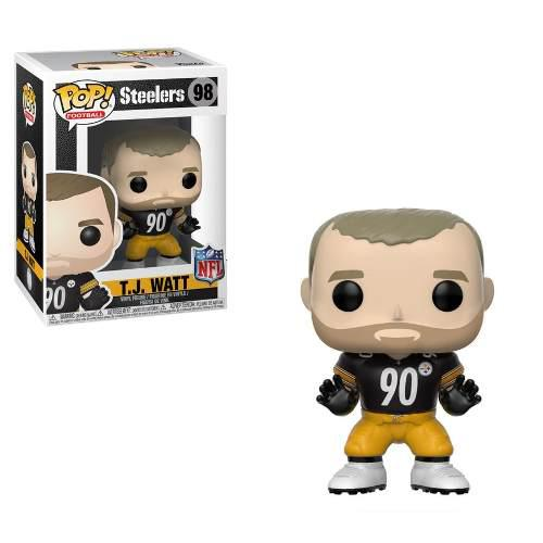 Funko Pop Football Nfl Pittsburgh Steelers T.j. Watt Vinyl