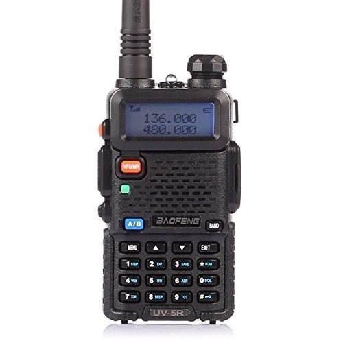 Kit 4 Radios Baofeng Uv5r Doble Banda Uhf Y Vhf
