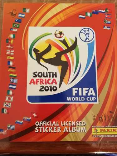 Liquidación Álbum Panini Sudáfrica 2010 Total Completo
